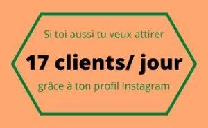 client profil Instagram