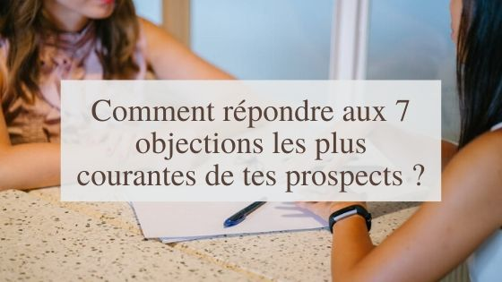 objections prospects